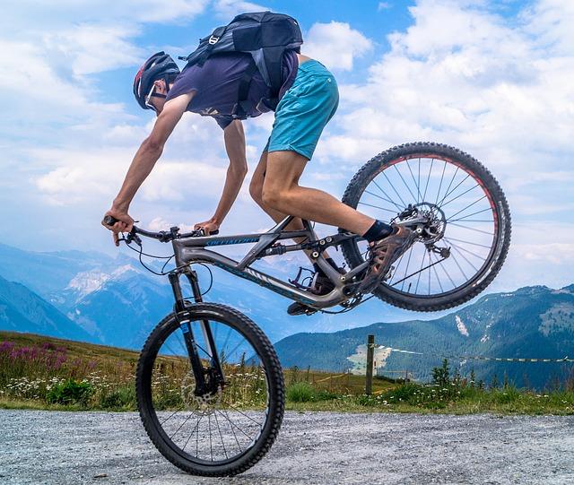 aktivní cyklista