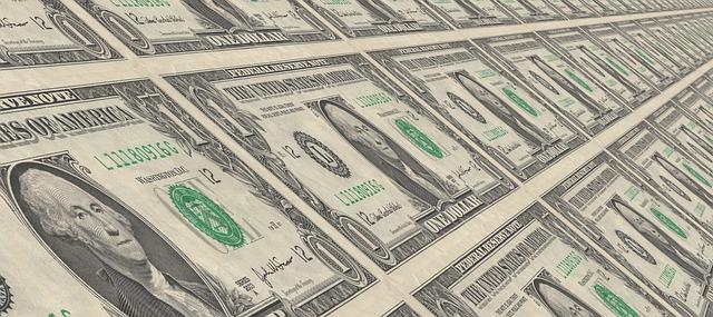 tištěné dolarovky